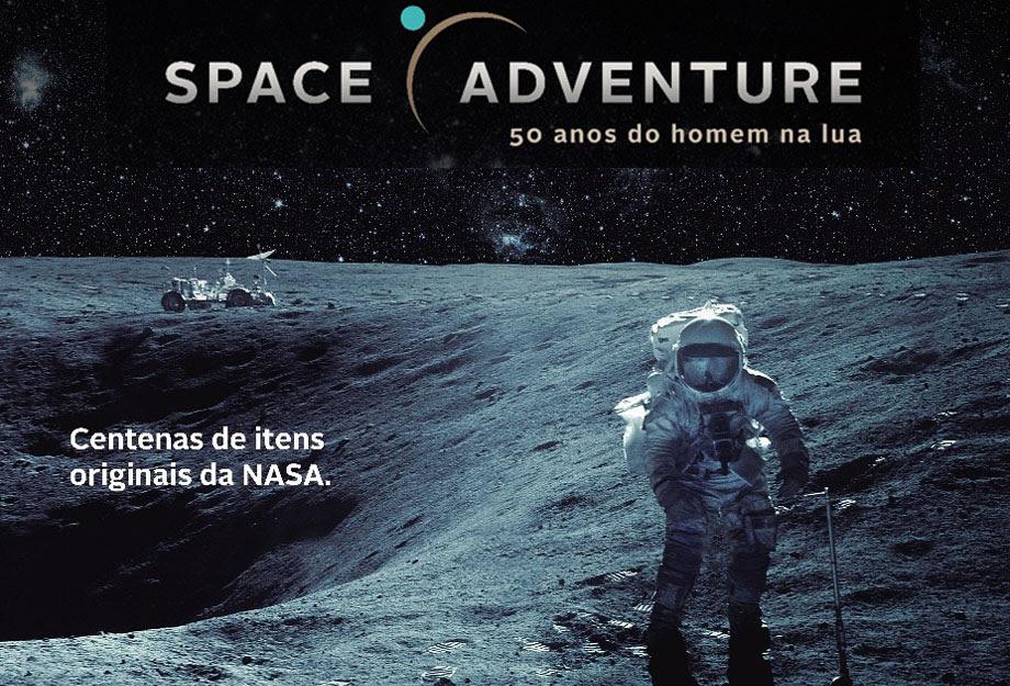 Space Adventure: Exposição inédita, com mais de 300 itens de missões da NASA jamais exibidos na América Latina, chega ao Brasil em 26 de agosto