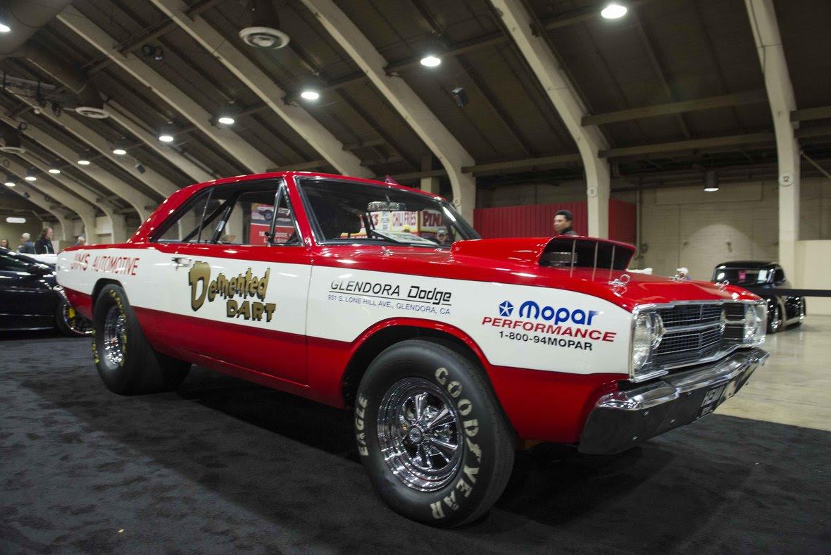 mecum 68 Dodge Hemi Dart