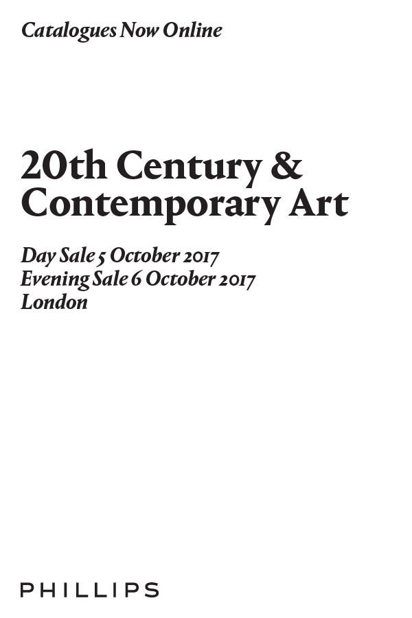 Catalogues Now Online: 20th Century & Contemporary Art, London