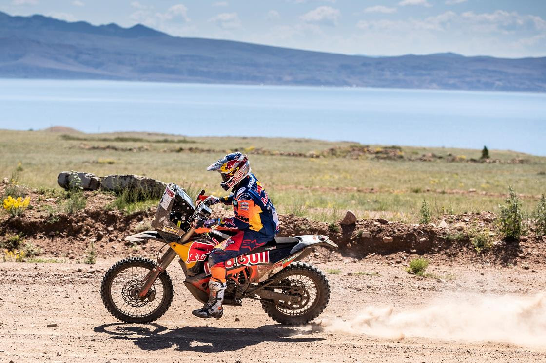 Gaps start to open up on second stage of 2019 Silk Way Rally