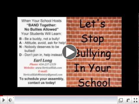 BAND Together: No Bullies Allowed TV Clip of Earl Long