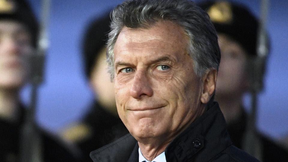 Mauricio Macril, el principal responsable político de la debacle económica.