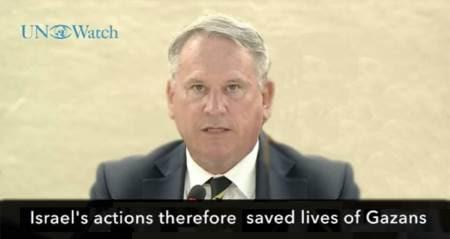 Британский полковник защитил Израиль на Совете по правам человека в ООН