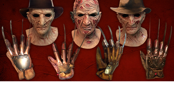 A NIGHTMARE ON ELM STREET FREDDY KRUEGER GLOVES