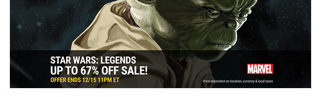 Marvel Star Wars Legends Sale: up to 67% off! | Ends 12/15