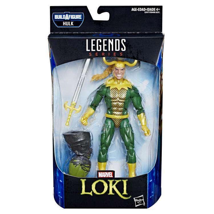 Image of Avengers: Endgame Marvel Legends Loki (Hulk BAF) - Wave 2