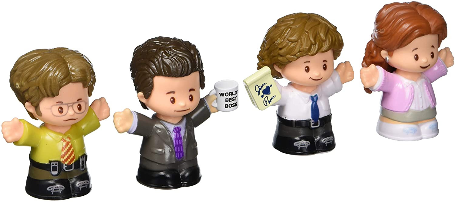 Image of The Office Figures by Little People 4-Pack