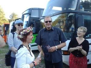 Bussijuht Peeter ja dirigendi abi Siiri