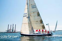 J/120 sailing Ida Lewis Distance Race