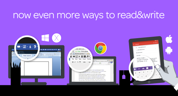 now even more ways to read&write