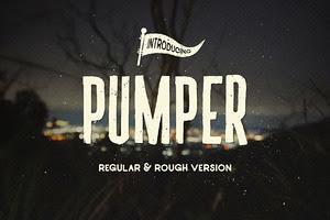 Pumper Typeface