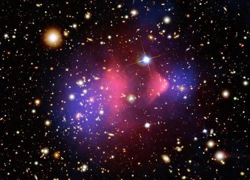 المادة المظلمة في الكون