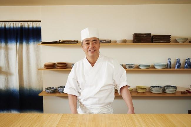 神田裕行さん(日本料理店「かんだ」主人) 写真/川村 隆