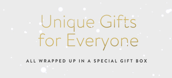Unique Gifts for Everyone  | ALL WRAPPED UP IN A SPECIAL GIFT BOX