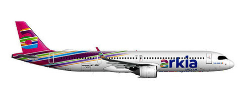 Airbus A321neo Arkia 4X-AGH,'Fuchsia' | is due: January / February 2020