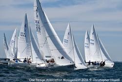 J/22s sailing Worlds off Kingston, ONT