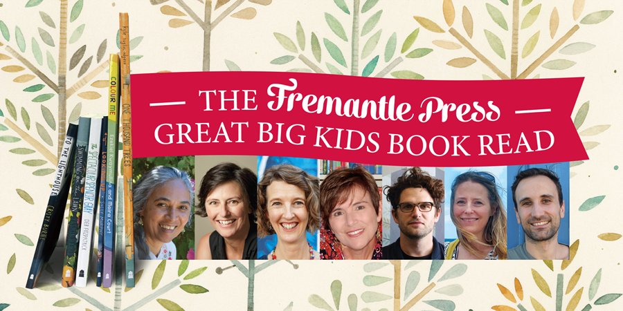Launch 6 books in 1 at the Great Big Kids Book Read for Fremantle Press