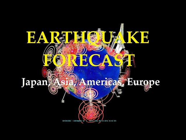 5/31/2016 -- Global Earthquake Forecast -- Japan, Pacific, United States new unrest brewing  Sddefault