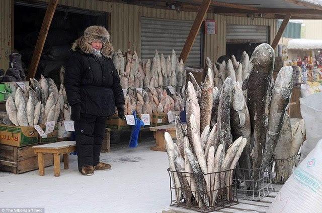 Những hình ảnh ấn tượng vá» ngôi làng lạnh nhất thế giá»i - 5