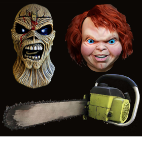 HALLOWEEN PROPS AND MASKS