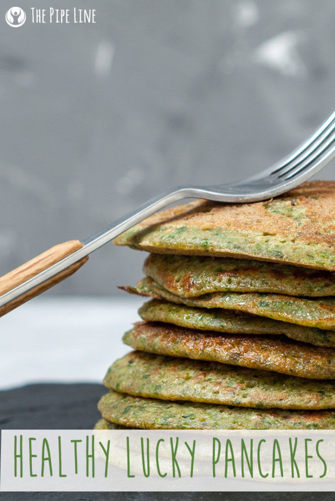 Healthy Lucky Pancakes