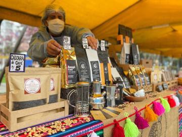 """Venta de café en mercados Midagri """"De la chacra a la olla 2021"""" generó más de S/ 153.000"""