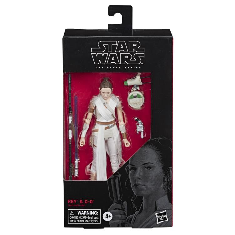 Image of Star Wars: The Black Series Wave 22 - Rey and D-O