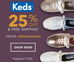 25% Off All Keds!