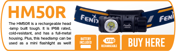 Fenix HM20R LED Headlamp