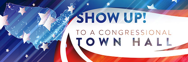 Show Up to Meet Your Members of Congress