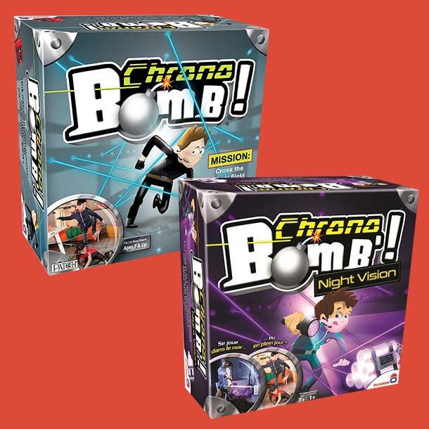 Chrono bomb társasok!