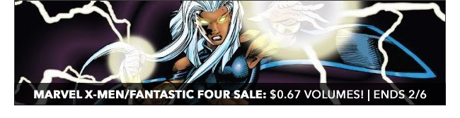 Marvel X-Men/Fantastic Four Sale: up to 67% off! | Ends 2/6