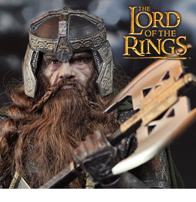 THE LORD OF THE RINGS GIMLI 1/6 SCALE FIGURE