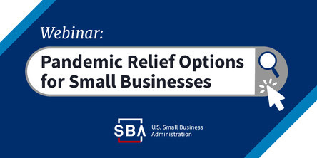 Pandemic relief options for small businesses