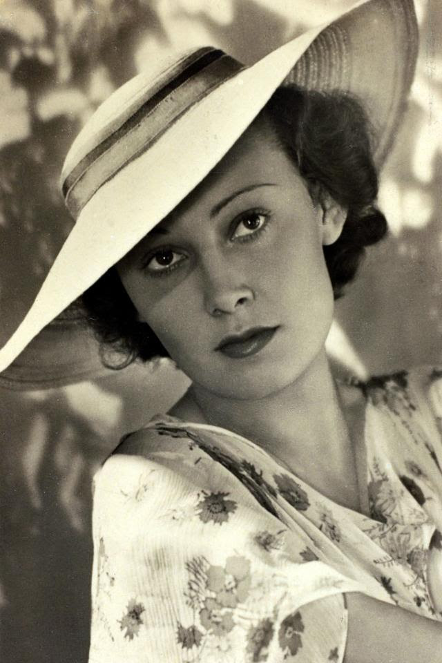 Lída Baarová, a Czech actress, had a two-year affair with Goebbels
