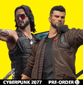 Cyberpunk 2077 Figures