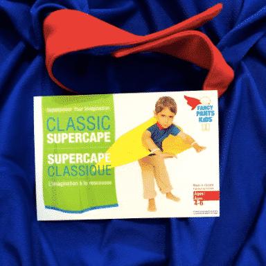 Blue Classic Supercape size 2-3