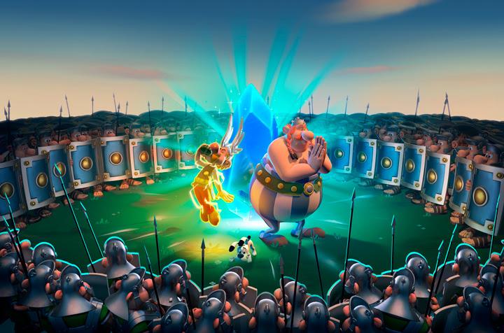 Astérix y Obélix XXL: El Menhir de Cristal