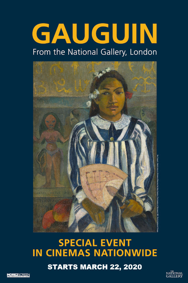 Gauguin From the National Gallery, London