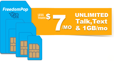 Less than $7/month Unlimited T...