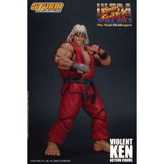 Image of Street Fighter II Violent Ken 1/12 Scale Figure