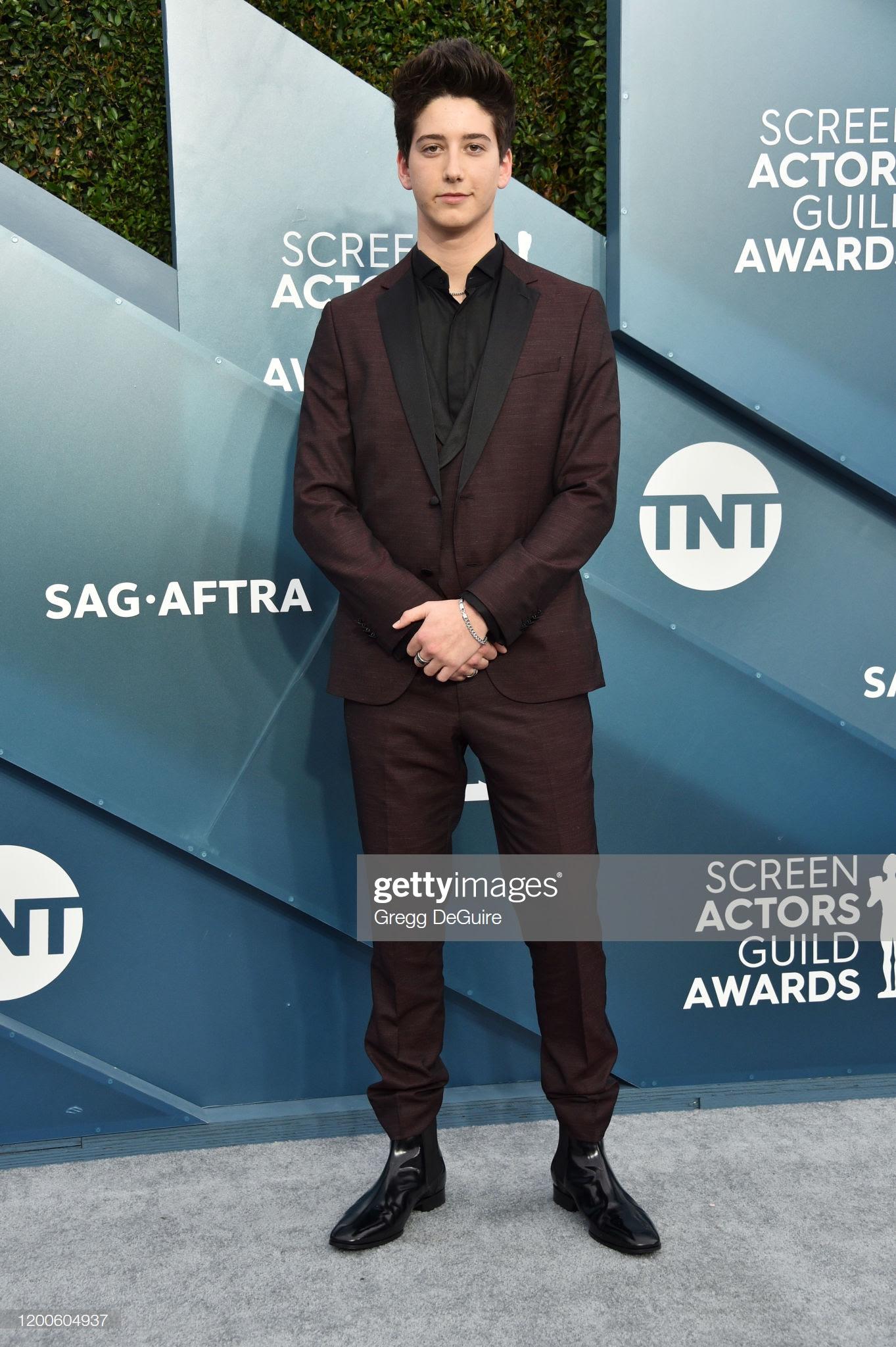 """c2b015c1 c2d5 4976 a384 49fcdd1e54af - Screen Actors Guild Awards"""" 2020: Scarlett Johansson y Leonardo Dicaprio entre las celebrities que lucieron Jimmy Choo"""