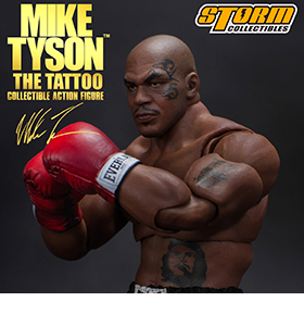 MIKE TYSON THE TATTOO 1/12 SCALE FIGURE
