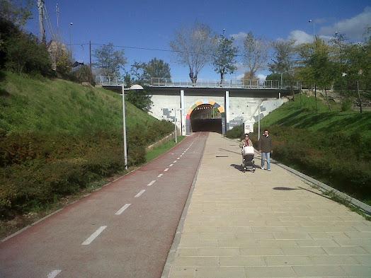 Wikiloc | Foto de ferroBTT etapa XXXVIII linea O´Donnell - Barajas Via  Verde de la Gasolina (1/2)