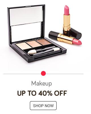 Makeup upto 40% off