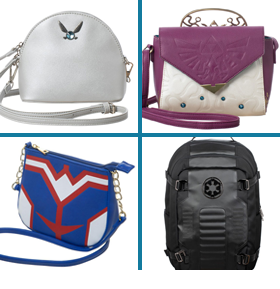 NEW BIOWORLD BAGS AND BACKPACKS