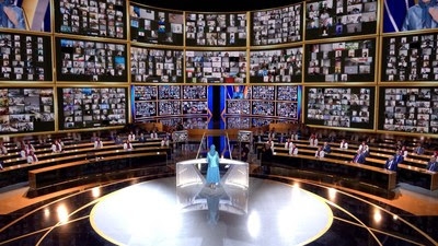 International leaders to join Iranian resistance movement at the Free Iran World Summit 2021, demanding accountability for Iran's clerical regime and prosecution of its leading officials for their role in crimes against humanity. (PRNewsfoto/Free Iran World Summit)