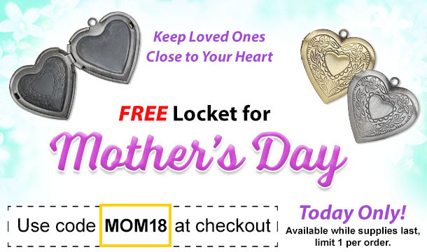 FREE Locket with Purchase