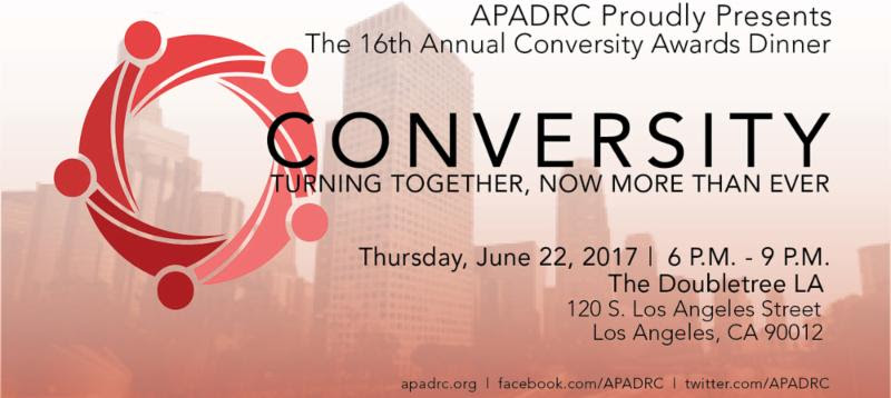 Apadrc Presents The Sixteenth Annual Conversity Awards