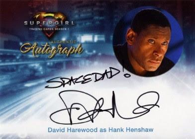 Supergirl Trading Cards Season 1 - Autograph Card - David Harewood